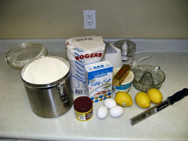 That may technically be too much flour